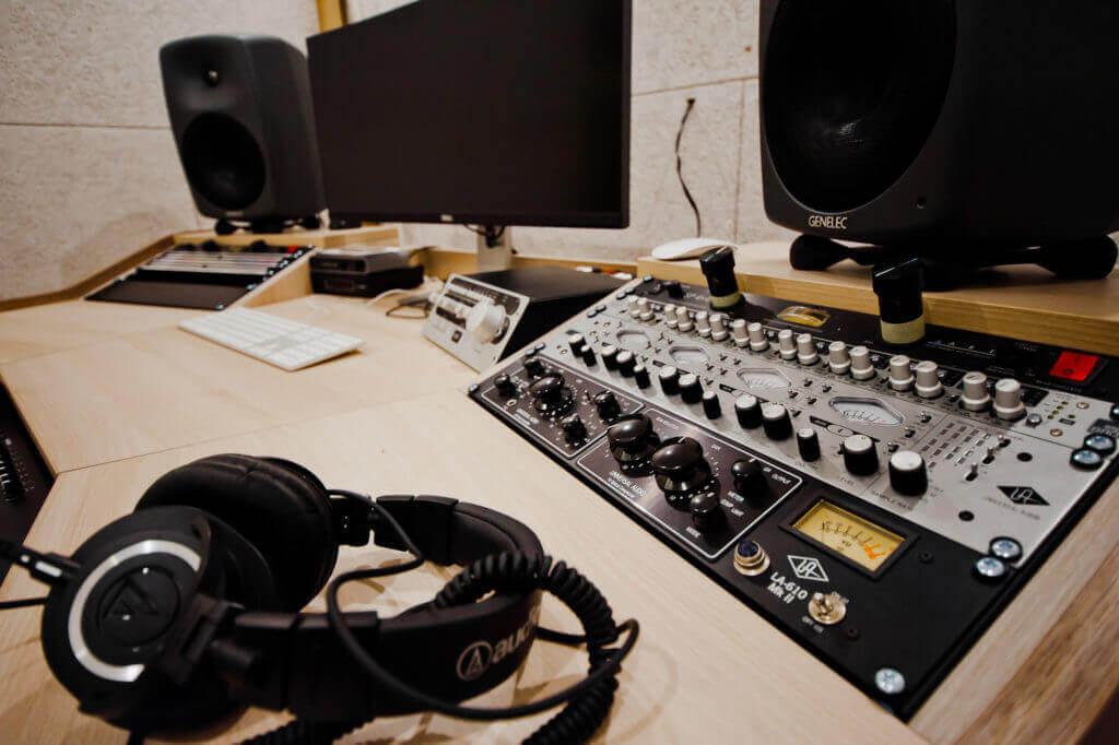 студия звукозаписи-1